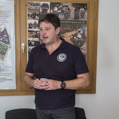 Bernardo Lepore Presidente MotoForPeace