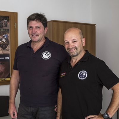 Dino Lepore e Richard Celona MotoForPeace