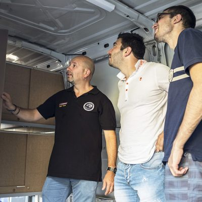 MotoForPeace Alto Adige furgone