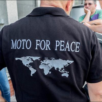 MotoForPeace Alto Adige inaugurazione