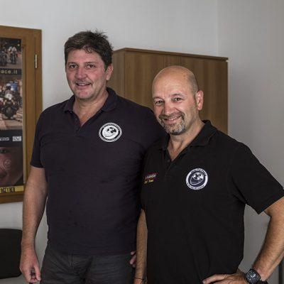 MotoForPeace Presidente Dino Lepore e Vice Presidente Richard Celona