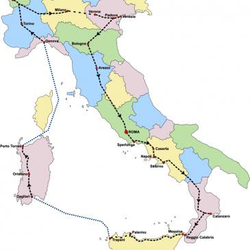 2005 tour delle province italiane