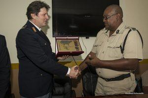 Belize incontro di MotoForPeace con Capo Polizia
