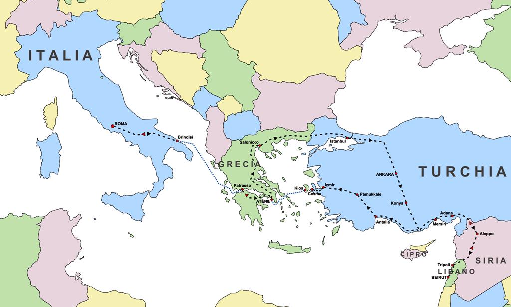 Libano_map