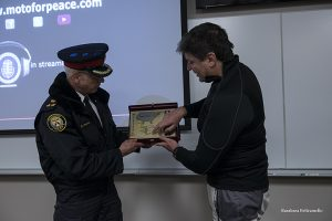 MfP visita headquarters Polizia generale Toronto