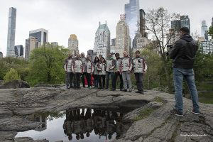 New York RAI World intervista MotoForpeace al Central Park