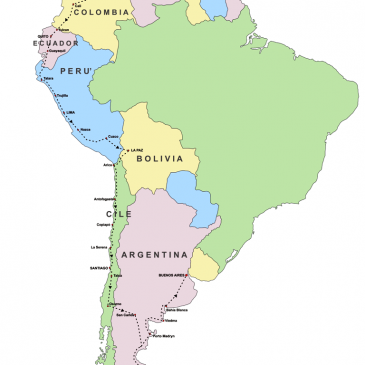 Mission to South America