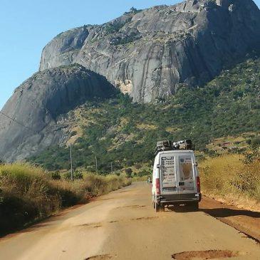 Verso Huambo: sosta a Quibuto