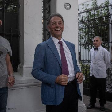 Invitati dall'Ambasciatore Austriaco in Buenos Aires